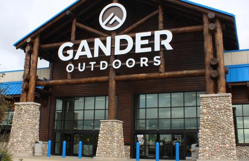 Gander Outdoors main entrance